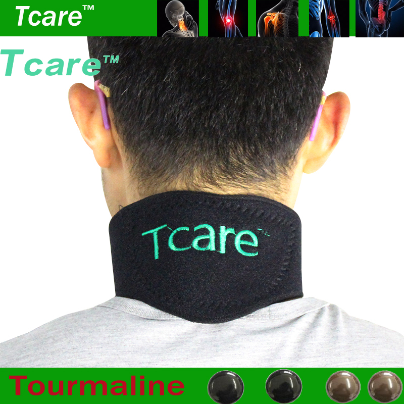 Tourmaline Neck Belt Self-heating Brace Therapy Magnetic Wrap Protect Belt Support Spontaneous Heating Neck braces Penjagaan Kesihatan
