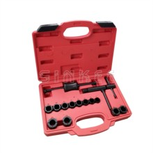 Buy Motorbike Motorcycle Brake Piston Frozen Caliper Removal Set Brake Kit 19-30mm 12 Universal Adaptors SK1292