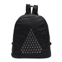 He New Fashion Strap Solid Casual Male Backpack School Canvas Bag Designer Backpacks For Men