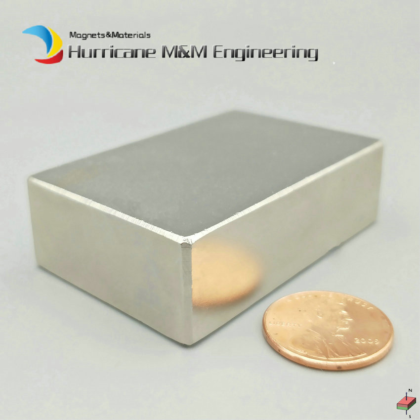N52 NdFeB Block about 60x40x20 mm 2 36 Length Strong Neodymium Permanent Magnets Rare Earth Industry