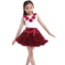 Lovely Kids Girls Tutu Skirt Fluffy Pettiskirt Baby Tutu Princess Skirt