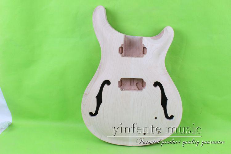 купить one 20# unfinished  electric guitar body  mahogany made and maple  top дешево