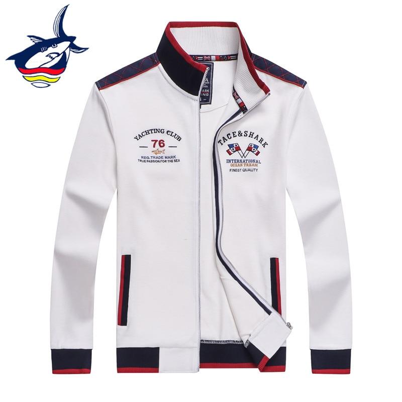 Autumn Boys Girls Pocket Shark Sea Comfortable Baseball Jacket Overcoat