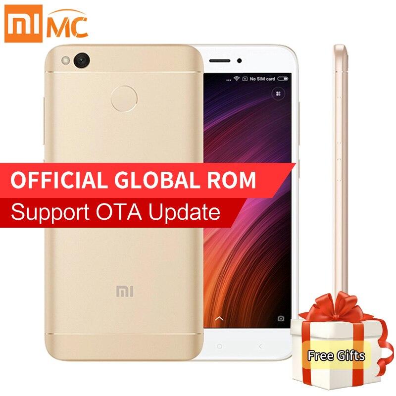 "bilder für Original Xiaomi Redmi 4X Smartphone 2 GB RAM 16 GB ROM Löwenmaul 435 Octa-core 5,0 ""HD Display 4100 mAh Fingerabdruck 13MP MIUI 8,2"
