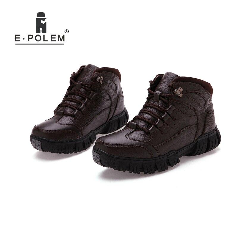 Occasionnels Brown En top Pour Chaudes dark De up Chaussures Plat Dentelle Véritable Hommes Solide Cheville Cuir Haute Noir Black brun 11xngqF