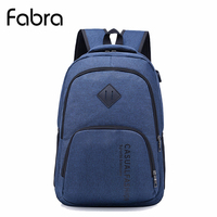 Fabra New Men Backpack For 15 6 Inches Laptop Backpack Large Capacity Students School Book Backpack