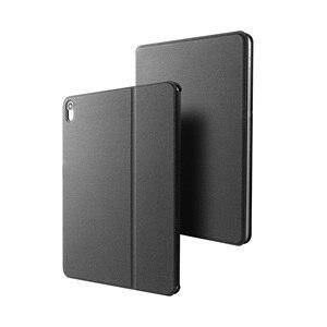 Image 5 - حافظة جلدية لاسلكية للوحة المفاتيح مزودة بتقنية البلوتوث لهاتف iPad Pro مقاس 11 بوصة 2018 أغطية للوحة مفاتيح الكمبيوتر اللوحي ملصق مجاني للغة