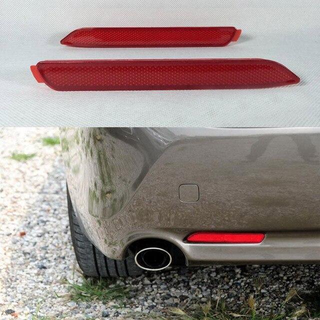Melhor Qualidade 2 Pcs Red Rear Bumper Refletor Luz de Freio Da Cauda Estacionamento Luz de Aviso Para A Toyota Reiz/DESEJO/Harrier 2010/EZ/SIENNA