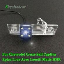 HD CCD ночное видение автомобиля заднего вида резервная камера водонепроницаемая для Chevrolet Cruze Sail Captiva Epica Lova Aveo Matis HHR