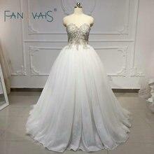 Vintage Robe De mariée 2019 Vestido De Noiva Couture Robe cristal strass fermetures à glissière robes De mariée Robe De mariée longue grande taille
