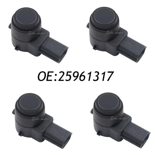 4PCS 25961317 PDC Sensor Bumper Parking Assist Object reverse 21995586,15239247,25961321