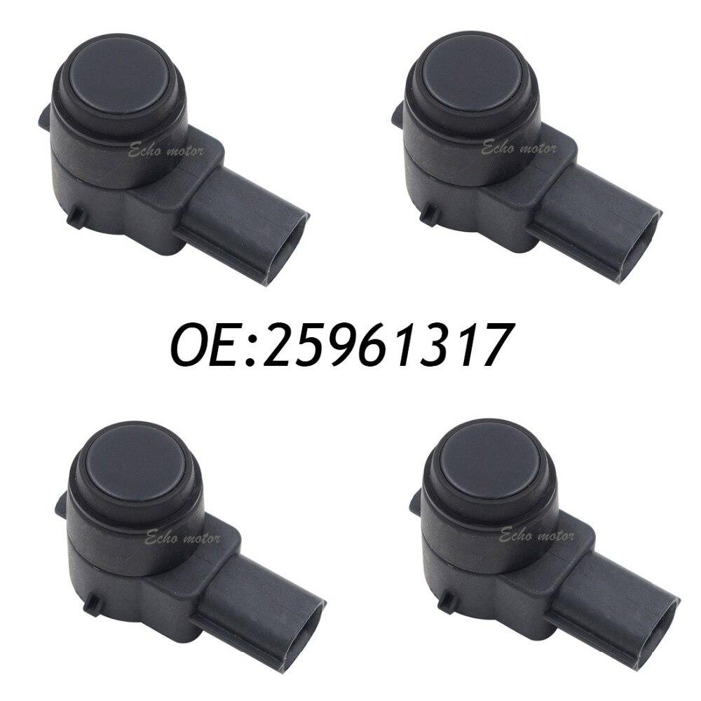 4PCS 25961317 PDC Sensor Auto Einparkhilfe Objekt reverse 21995586 15239247 25961321 Für Buick