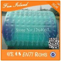 Бесплатная доставка 100% ТПУ Хорошее качество воды надувной мяч прокатки, надувные ролик воды для продажи