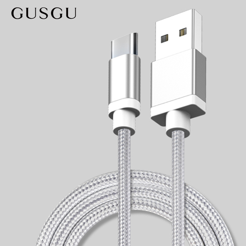GUSGU USB Type c Cord Charger USB-C Cable Charging for Samsung S9 Note 8 for Xiaomi Mi