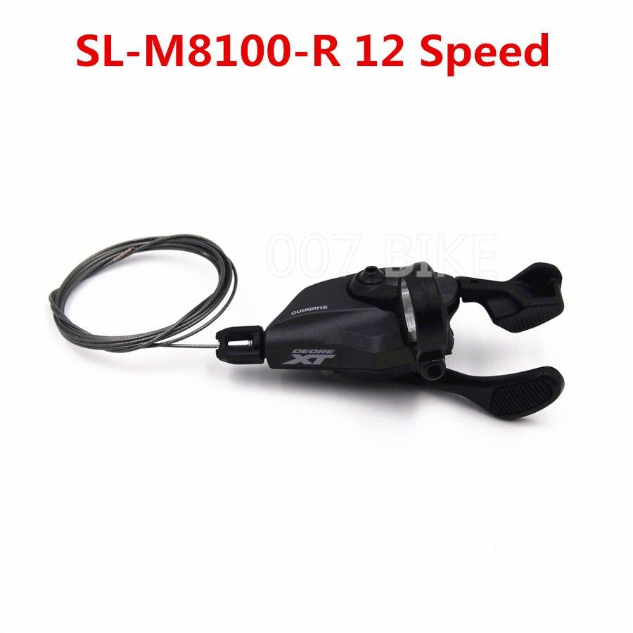 Image 5 - SHIMANO DEORE XT M8100 Groupset 32T 34T 36T 170 175mm Crankset Mountain Bike Groupset 1x12 Speed CSMZ90 M8100 Rear DerailleurBicycle Derailleur   -