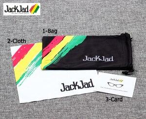 JackJad 2019 أزياء الرجال بارد مربع نمط التدرج النظارات الشمسية القيادة خمر العلامة التجارية تصميم رخيصة نظارات شمسية Oculos دي سول 1155
