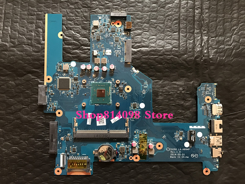 for HP 15-G 15Z-G000 Motherboard LA-A996P ZSO51 764260-501 AMD A8-6410 CPU W8STD