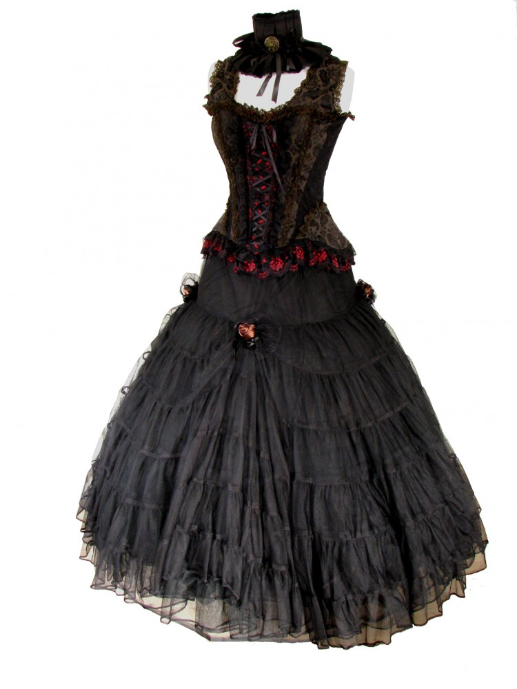 Ladies Victorian Nancy Oliver Twist Corset Style Costume -3799