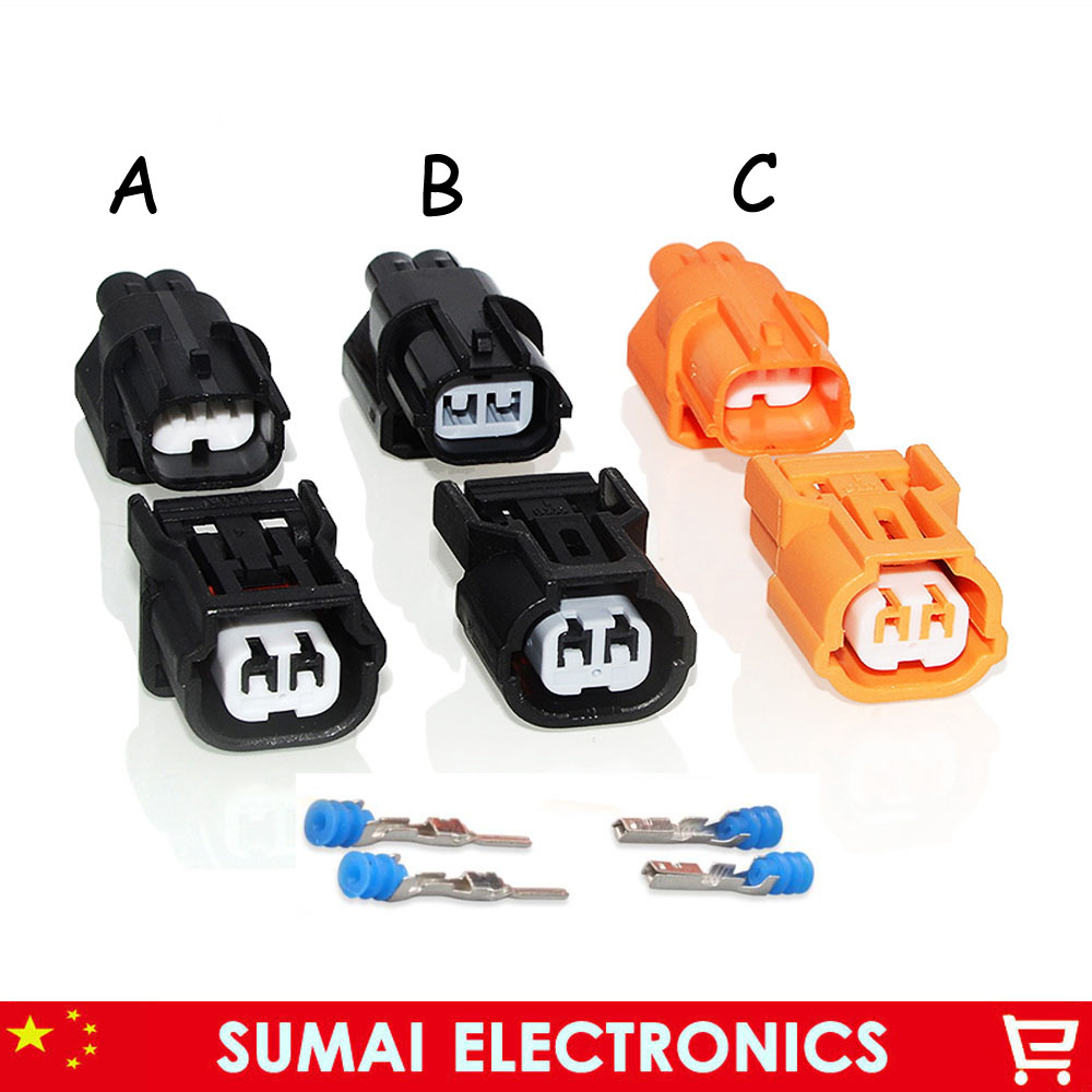 A/B/C Type 2 Pin 1.0mm Auto Sensor Plug,intake Pressure Sensor Plug(for Sumitomo HX Series) Connector For Honda Accord