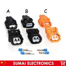 A/B/C Тип 2 Pin 1,0 мм разъем для датчика Автомобильный, датчик давления на впуске штекер(для Sumitomo серии HX) разъем для Honda Accord