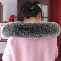 Fashion winter scarf ladies fox fur scarf warm large size fur collar scarf shawl 2018 hot fox collar L8