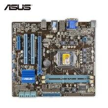 ASUS P7H55-M плюс оригинальный использоваться для настольных ПК H55 разъем LGA 1156 i3 i5 i7 DDR3 8 г DVI VGA uatx Распродажа