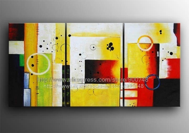 Gift Modern Abstract Painting Contemporary Wall Art Large Fine ...