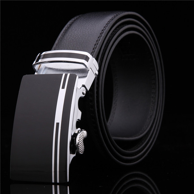 2017 men's Fashion geniune leather mens belts for men luxury brand designer belts for male Top quality waist strap free shipping