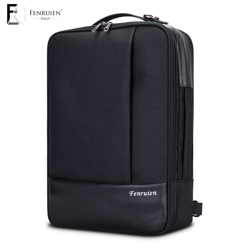 Fenruien 2018 new laptop backpack men's waterproof fashion urban business backpack travel anti-theft backpack backpack bag the new 2016 contracted fashion travel bag backpack gift bag business backpack