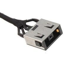 Komputer przenośny gniazdo zasilania prądem stałym kabel wtykowy do Lenovo Ideapad G50 70 80 85 90 PJ704 złącze kabla do laptopa