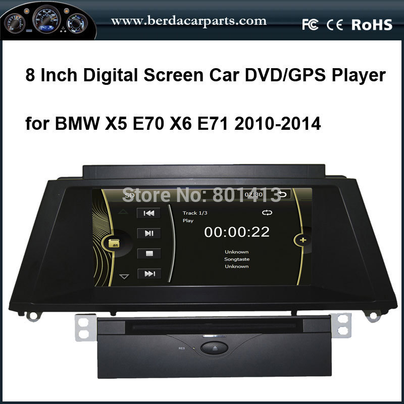 Car DVD Player For BMW X5 E70(2010 2014) BMW X6 E71 E72