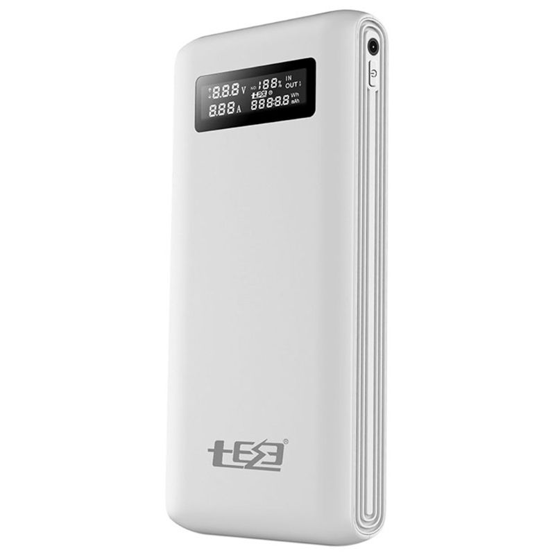 (No <font><b>Battery</b></font>)Dual USB QC3.0 Output <font><b>6x</b></font> <font><b>18650</b></font> <font><b>Batteries</b></font> DIY Power Bank Box <font><b>Holder</b></font> Case Fast Charger For Mobile Phone Tablet PC image