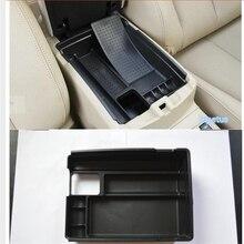 Для Nissan Qashqai J11 2014-2019 центральной консоли подлокотник Box вторичная многофункциональный ящик для хранения телефона Держатели лоток аксессуар