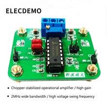 Модуль операционного усилителя со стабилизированным чоппером ICL7650  2 МГц  широкая полоса