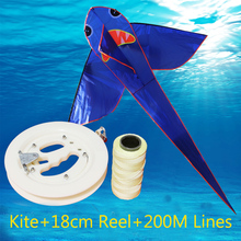free shipping high quality flying shark kite with handle line kite fabric ripstop kids kites factory pipas voadores umbrella hot