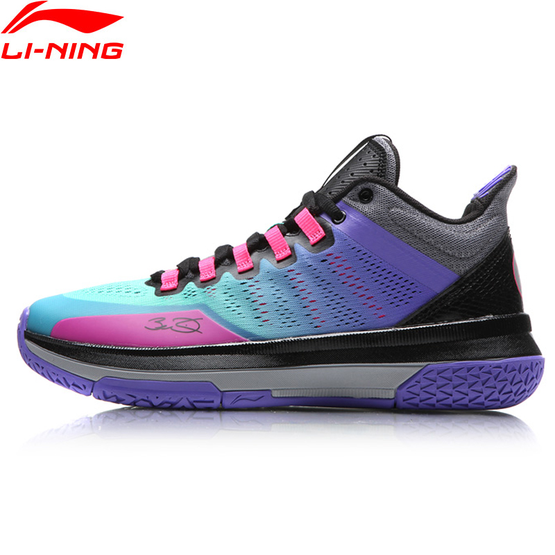 Li-Ning Men Wade All Day 2 On Court Basketball Shoes Breathable Cushioning LiNing Sneakers Sport Shoes ABPM013 XYL110 li ning men s storm ii on door basketball shoes lining cloud breathable cushioning sneakers sports shoes abfm005 xyl108