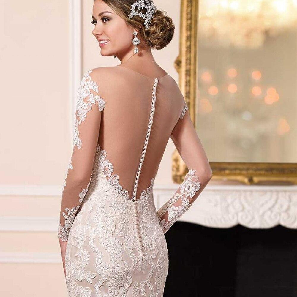 Niedlich Lange Hülsenspitze Mantel Brautkleid Fotos - Hochzeit Kleid ...