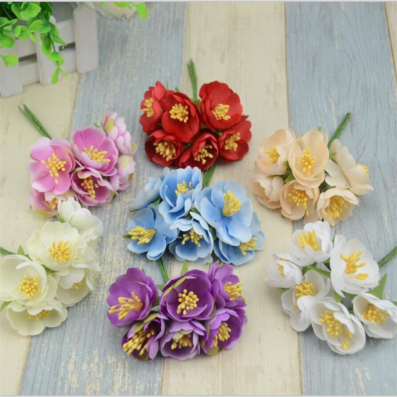 Silk Fabric Flower Series Hand Painting Digital Printing Cloth 20 20cm Thick Cotton And Linen