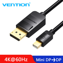 Vention Thunderbolt Mini displayport to Displayport Cable Mini DP to DP Cable Adapter Computer TV Converter for Macbook Pro Air цена и фото