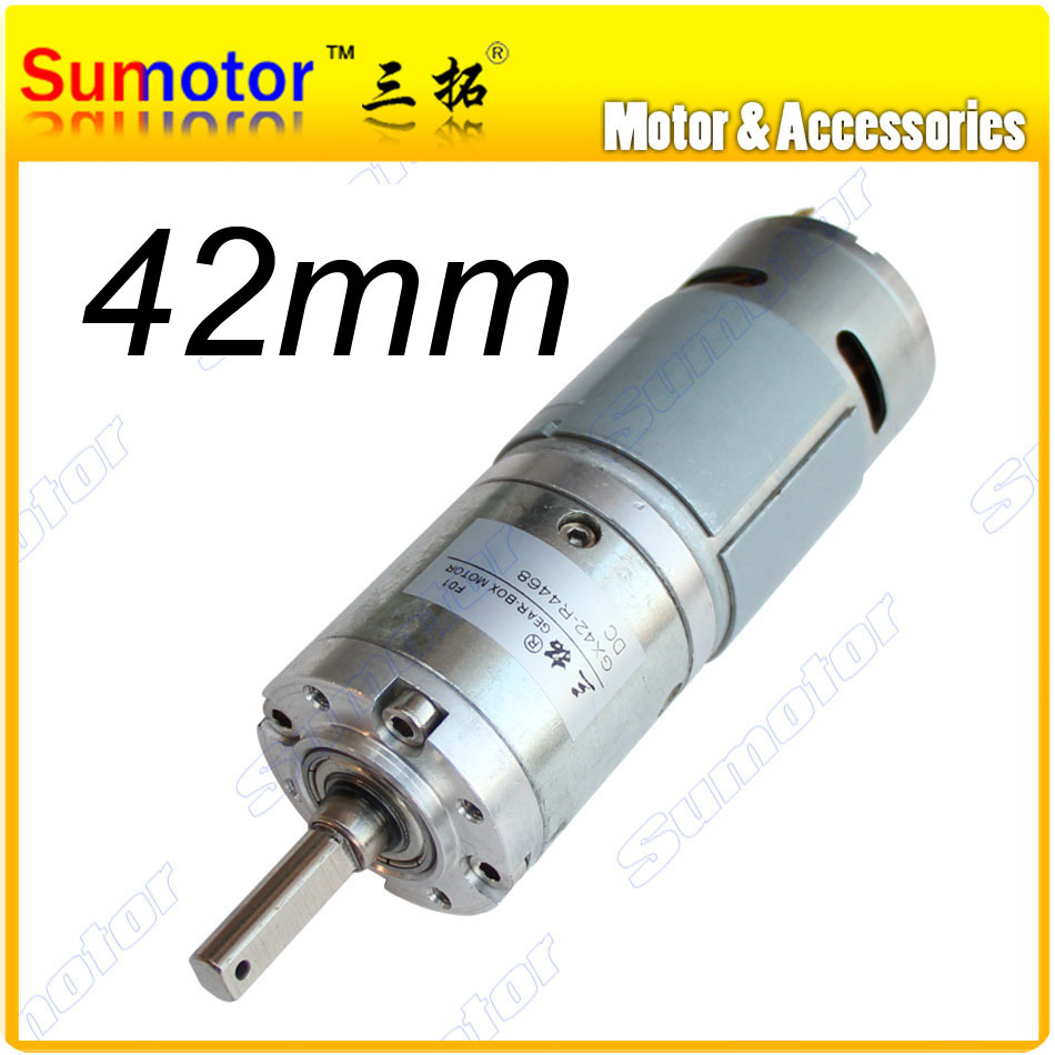Gx42 d 42mm 12v 24v low speed dc planetary geared motor dc Dc planetary gear motor