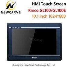 Kinco écran tactile HMI GL100 GL100E 10.1 pouces 1024x600 px, USB, hôte, Interface de Machine humaine, RS232, RS422, RS485, Newcarve