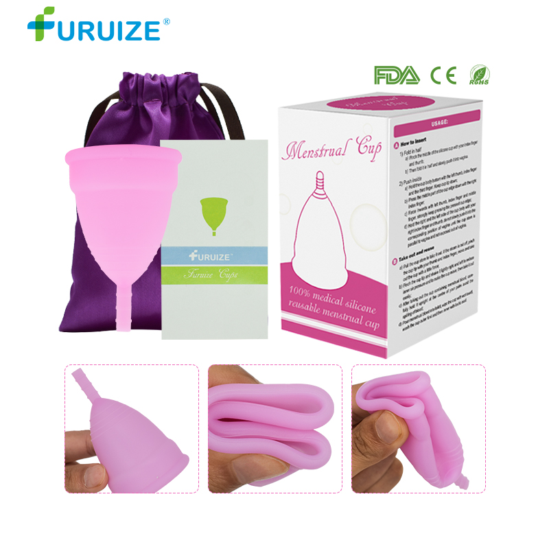 Support Dropshipping Copa Menstrual Cup Feminine Hygiene For Women Reusable Lady Cup 100% Medical Grade Silicone Women Cup
