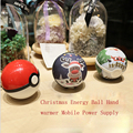 1Pcs 6000mAh Universal Christmas Energy Ball hand warmer Mobile Phone Power Bank Supply for Samusng Note 5 for iPhone5s 6 7 plus