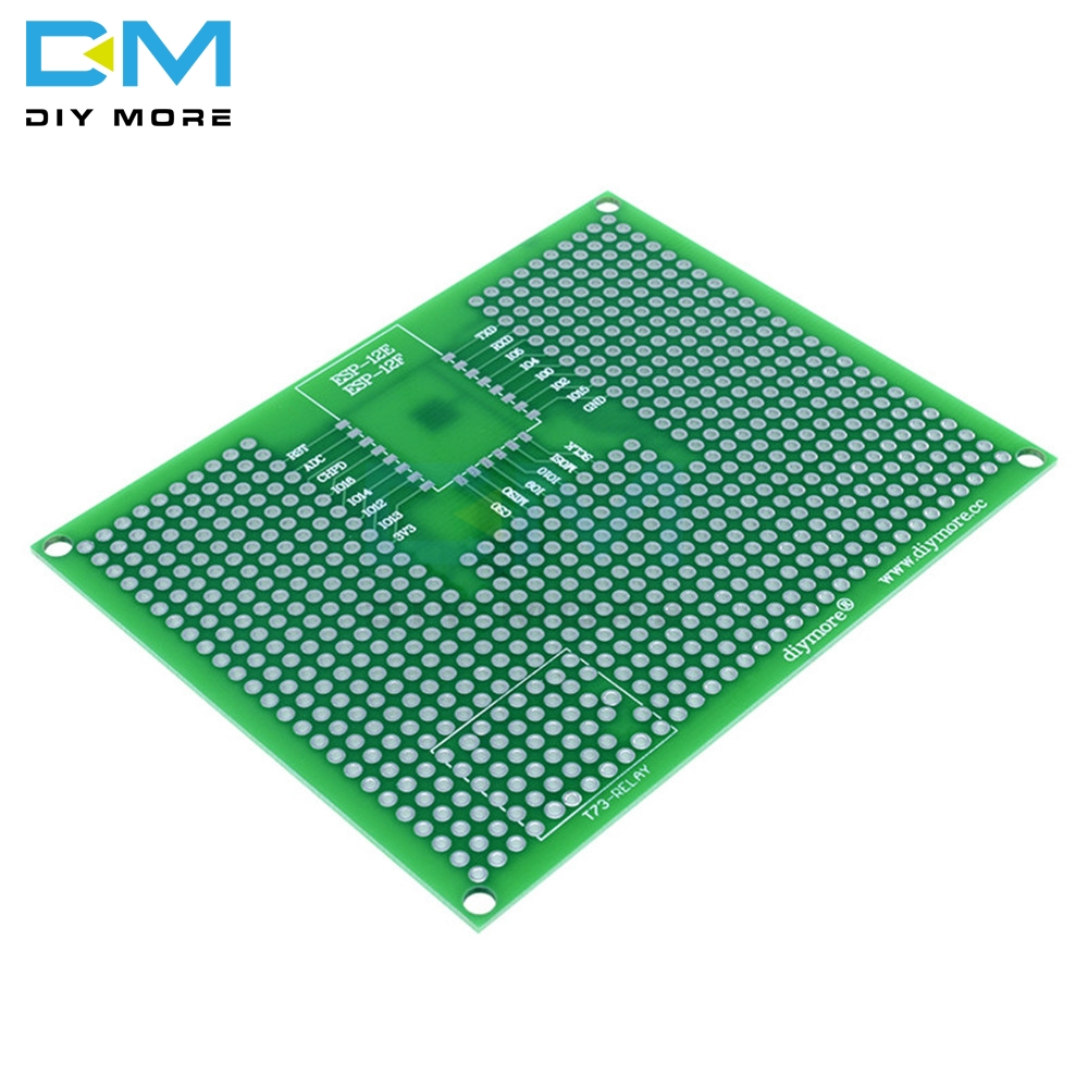7x9CM 70X90mm Prototype PCB Breadboard Board For ESP8266 ESP-12F ESP-12E ESP12 ESP32 ESP-32S Double Side Prototype PCB