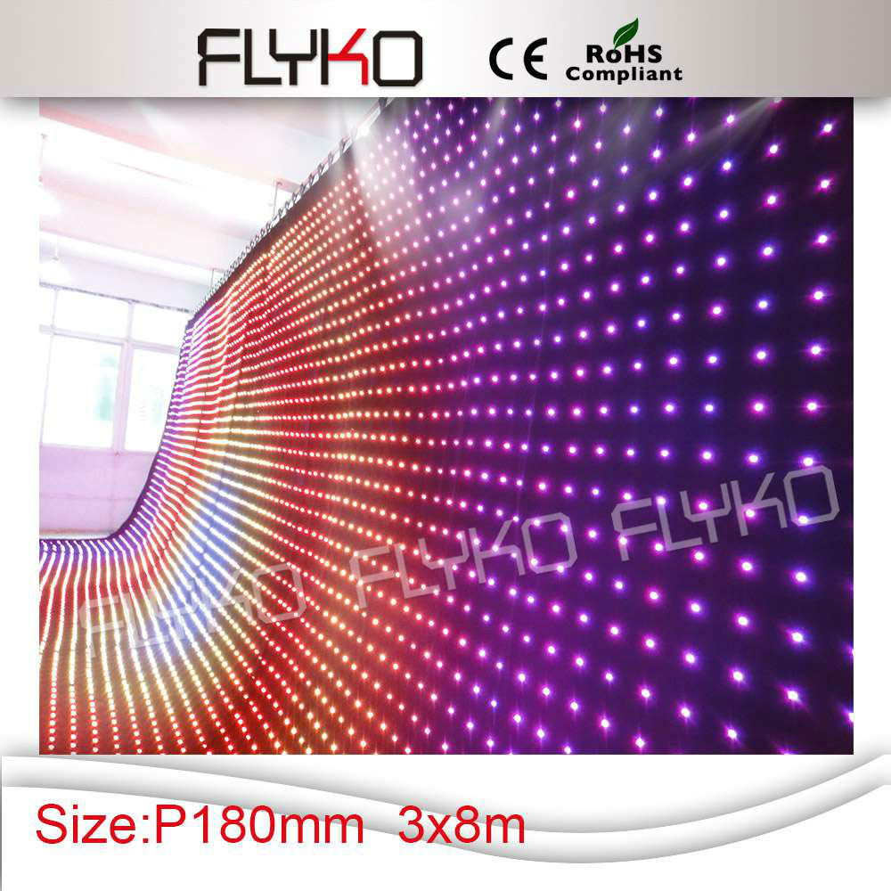 New led products for 2015 wedding stage lighting led video wall