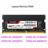 Ram DDR4 DDR3 DDR3L 4GB/8GB 1600/2400/2666/2133MHZ Interface Type 260pin Memory Voltage 1.2V memory ram For Laptop Notebook