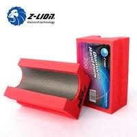 Z LION V30 Diamond Grinding Pad Electroplated Diamond Hand Pads Ceramic Tilestone Abrasive Foam Polishing Pad