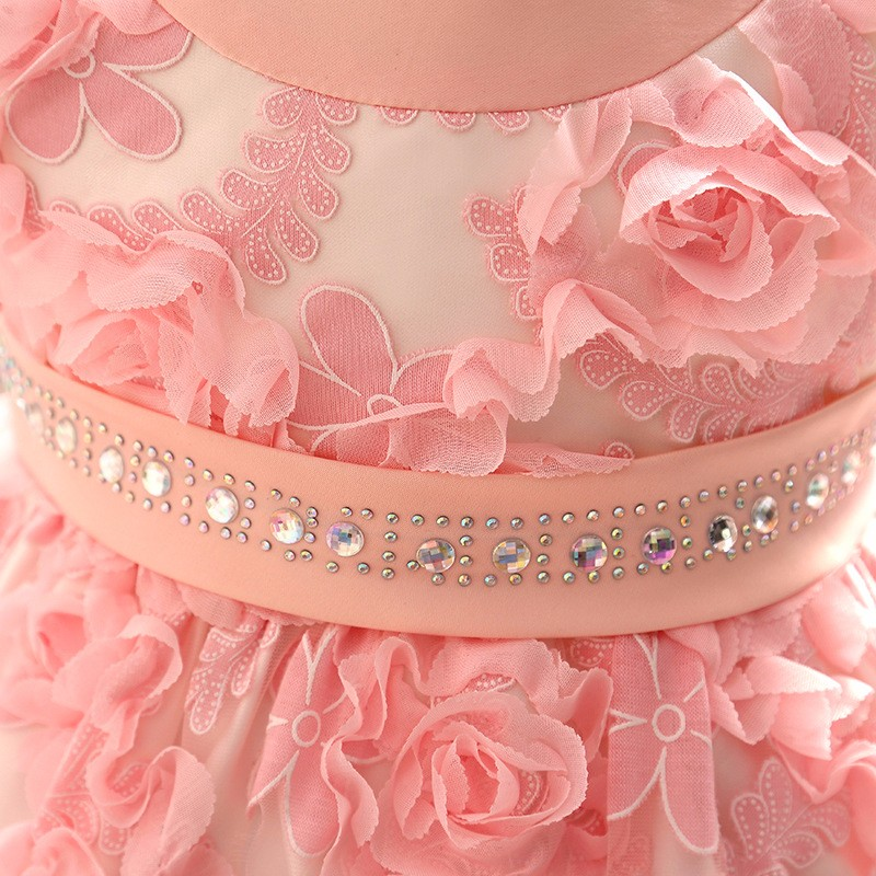 Baby Girls Dress 2016 New Fashion Kids Princess Birthday Party Tulle Wedding Dresses Christmas Dress Newborn Infant Clothes 0-2Y-9