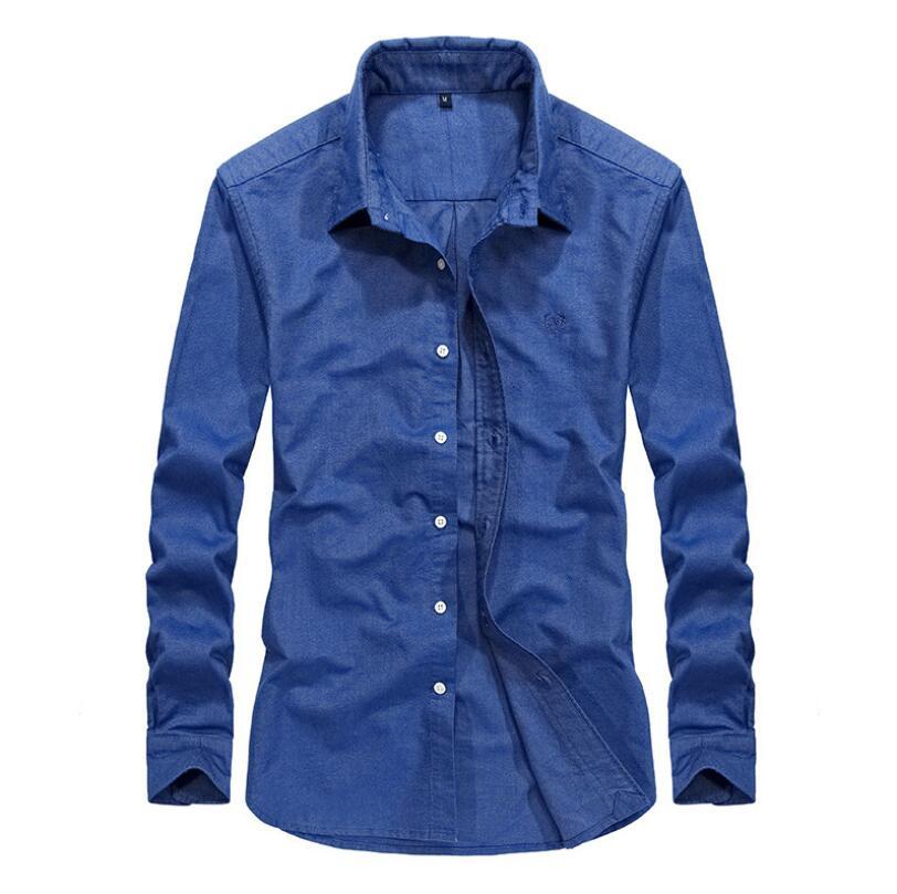 20af0f9f7fcc82 11 Color Choose Business Casual Men Shirts Long Sleeve 100% Cotton Camisa  Masculina Hawaiian Shirt Linen Slim FIt Mens Clothing | My Shop Name