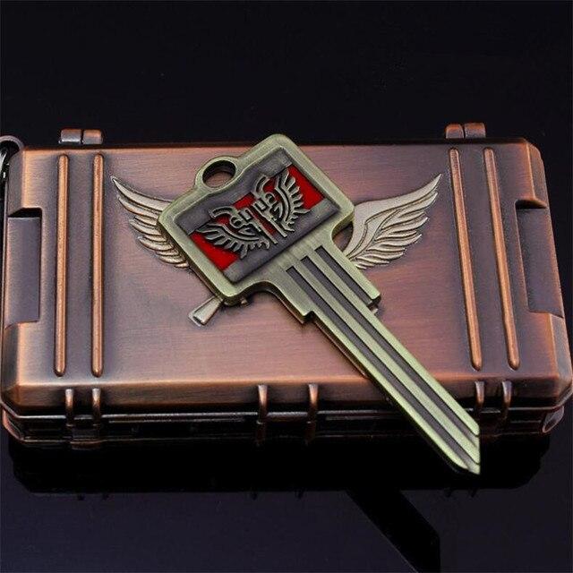 Брелок и ключ из игры Playerunknown's Battlegrounds 4